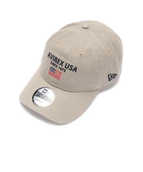 アヴィレックス×ニューエラ ポロキャップ USA国旗/ AVIREX×NEW ERA 9TWENTY POLO CAP U.S.A FLAG