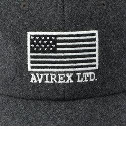 AVIREX/アヴィレックス/カーブ ベースボールキャップ メルトン フラッグ/ CURVE BASEBALL CAP MELTON FLAG