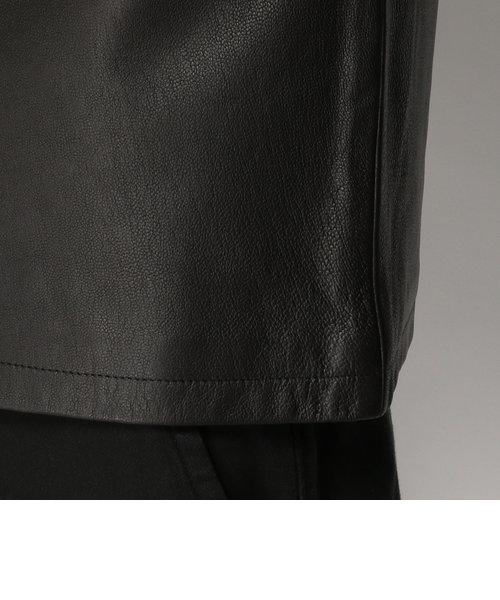 avirex/ アヴィレックス /GOAT UTILITY JACKET SHIRT/ ゴート ユーティリティ レザー シャツ ジャケット