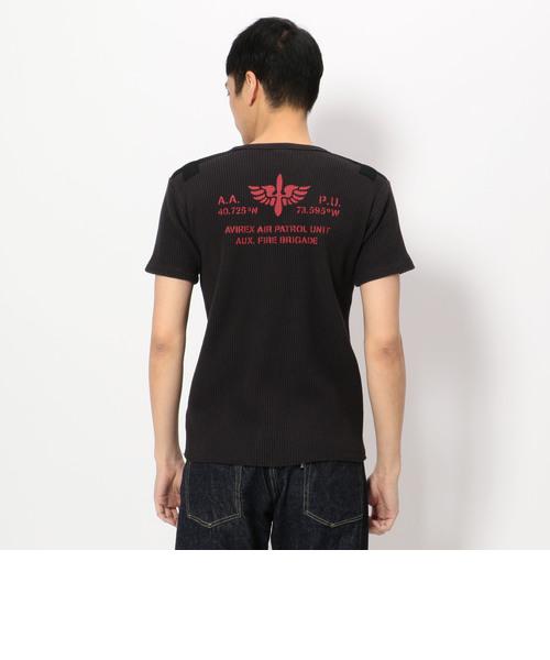 ヘビーワッフル テーピング Tシャツ/HEAVY WAFFLE TAPING T-SHIRT