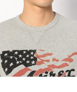 ダブル フェイス ワッフル 長袖Tシャツ/DOUBLE FACE WAFFLE CREW NECK T-SHIRT