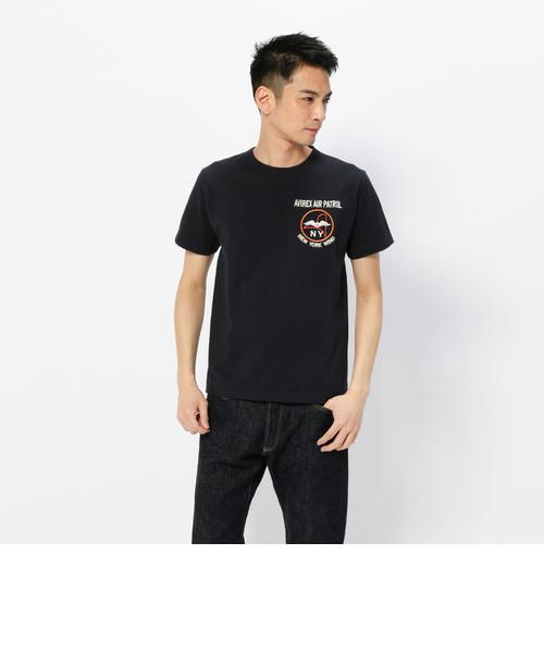 刺繍Tシャツ ニューヨーク ウイング/EMBROIDERY T-SHIRT N.Y.C. WING