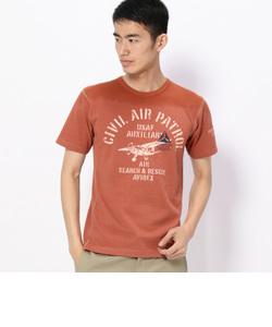 AVIREX/アヴィレックス /フェイディング クルーネックTシャツ/ S/S FADING CREW NECK T-SHIRT/TYPE BLUE/ タイプブ