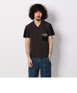 avirex/ アヴィレックス / 半袖 マテリアル ミリタリー Tシャツ/ S/S MATERIAL COMBI MILITARY T-SHIRT