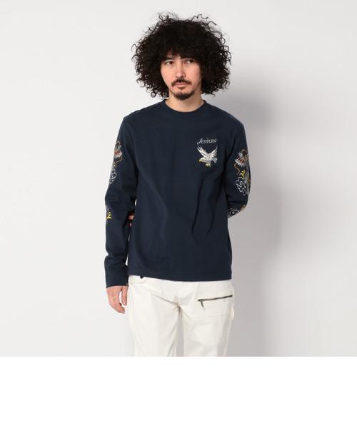 【直営店限定】スカ ロングスリーブティーシャツ