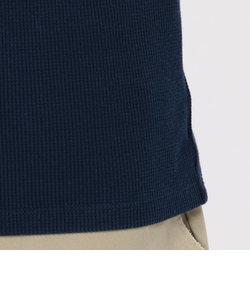 avirex/アヴィレックス/WAFFLE STENCIL V-NECK T-SHIRT/長袖 ワッフル ステンシル Vネック Tシャツ