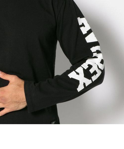 【WEB&DEPOT限定】avirex/アヴィレックス/U.S.A. COTTON SLEEVE LOGO T-SHIRT/ 長袖 米綿 袖ロゴTシャツ アヴィ