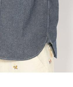 avirex/ アヴィレックス /TYPE BLUE S/S NAVAL CHAMBRAY SHIRT/ タイプブルー ネイヴァル シャンブレーシャツ/