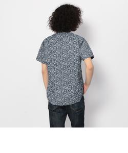 【直営店舗限定】avirex/アヴィレックス/タイプブルー 半袖 フラワープリントシャツ/TYPE BLUE S/S FLOWER PRINT SHIRT