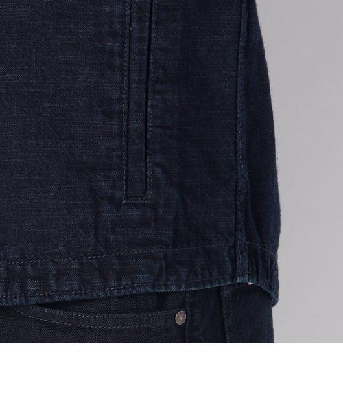【直営店舗限定】avirex/アヴィレックス/ TYPE BLUE DENIM JACKET SHIRT/ タイプブルー デニム シャツ