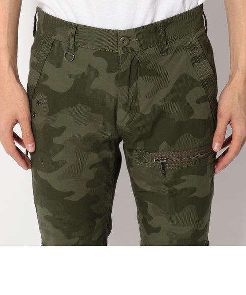 【直営店舗限定】カモストレッチ クロップド パンツ/CAMO STRETCH CROPPED PANTS