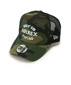 【直営店舗限定】AVIREX × NEW ERA/メッシュキャップ/MESH CAP KEEP'EM FLYING