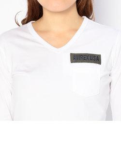 直営店限定/ ファティーグ 長袖 Vネック Tシャツ/ FATIGUE L/S V-NECK T-SHIRT