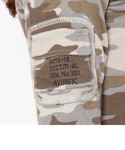 直営店限定/ カモファティーグ Vネック Tシャツ/ L/S FATIGUE CAMO L/S V-NECK-T-SHIRT
