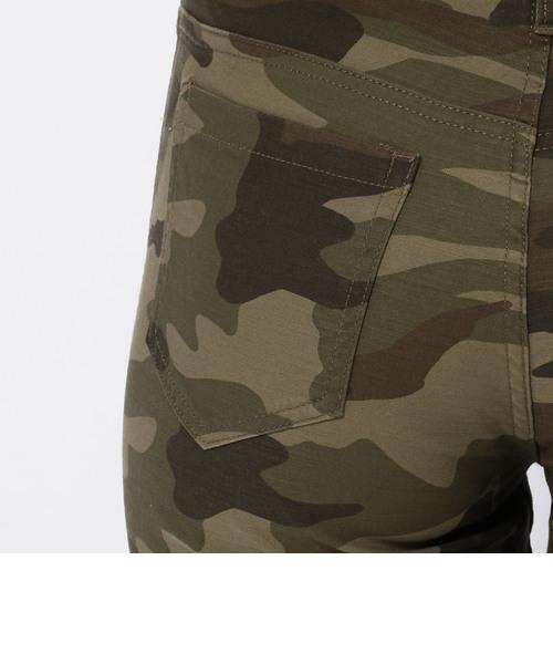 【直営店舗限定】ストレッチ カモフラージュ テーパード パンツ/STRETCH CAMOUFLAGE TAPERED PANT