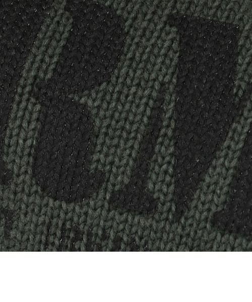 長袖 ステンシル ロゴプリント ニット プルオーバー/ L/S STENCIL LOGO PRINT KNOT PULL OVER