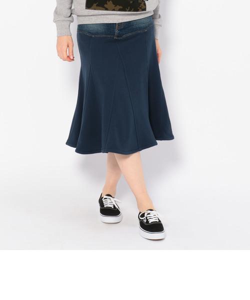タイプブルー コンビ リメイク スカート/ TYPE BLUE COMBI REMAKE SKIRT