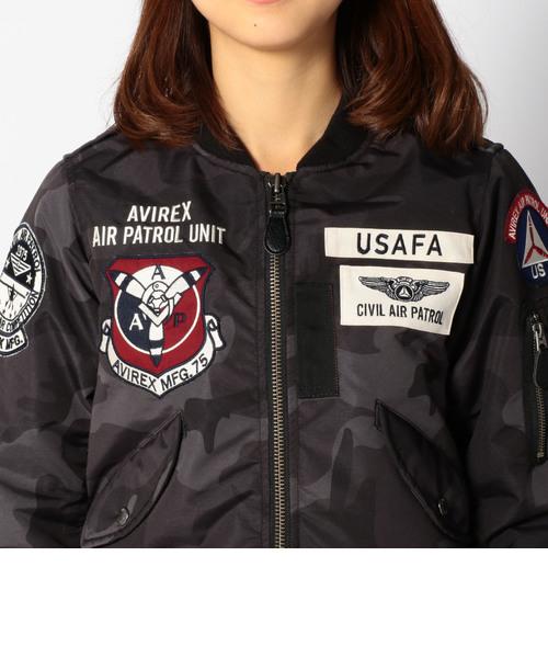ウィーメンズ ユーエスエーエフエー パッチド エルツー/ WOMENS U.S.A.F.A. PATCHED L-2