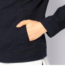 ストレッチ ベルト ブルゾン/STAND BELT STRETCH BLOUSON