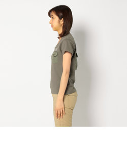 エーライン バックポケット ティーシャツ/ S/S A LINE BACK POCKET TEE