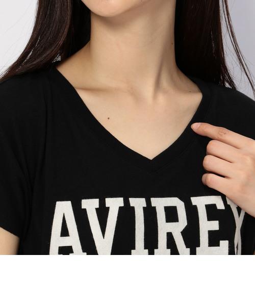 avirex/アヴィレックス/ノースリーブ パンチング カット ガーゼ ティーシャツ/ N/S PUNCHING CUT GAUZE TEE