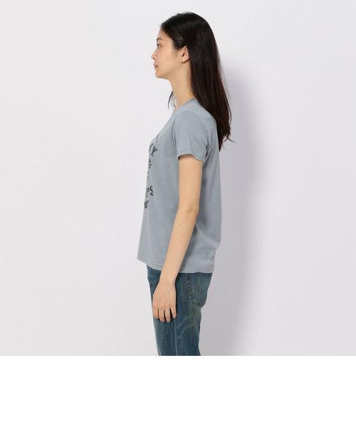 avirex/ アヴィレックス/ フェザー ロゴ プリントティーシャツ/FEATHER×LOGO PRINT T-SHIRT
