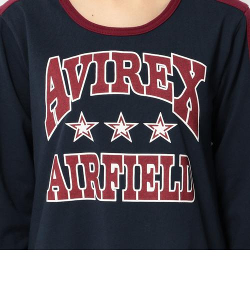 avirex/ アヴィレックス/BROCKING COLOR ONEPIECE/ ブロッキングカラー ワンピース