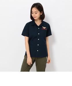 AVIREX/アヴィレックス/ エアーパトロール 刺繍 シャツ /L S/S AIR PATROL EMB SHIRTS/
