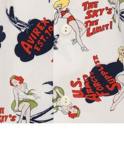 avirex/アヴィレックス/カスタム アロハシャツ/ CUSTOM ALOHA SHIRT/Women's