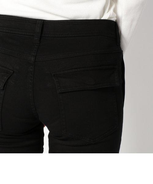 【直営店舗限定】AVIREX/アヴィレックス/サテンストレッチサイドポケットパンツ/ SATIN STRETCH SIDE POCKET PANT