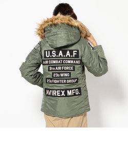 AVIREX/ アヴィレックス/カスタム N-3B/ CUSTOM N-3B WITH PATCHES U.S.A.A.F.