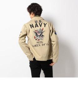 AVIREX/アヴィレックス/USネイビー N4 刺繍 ジャケット/U.S.NAVY N-4 EMBROIDERY JACKET