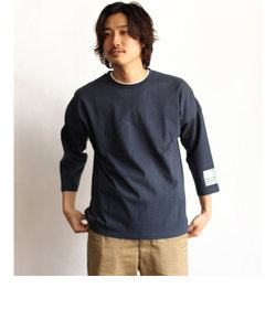 【WEB&DEPOT限定】ビッグロゴ 7分袖 Tシャツ/BIG LOGO 3/4 SLEEVE T-SHIRT AVIREX NYC