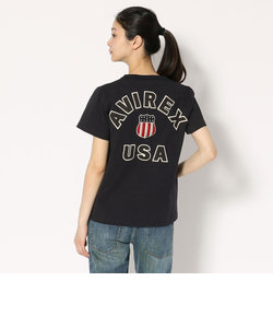 Women's/半袖 ヴァーシティー Tシャツ/VARSITY T-SHIRT