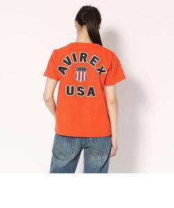 AVIREX/アヴィレックス/半袖 ヴァーシティー Tシャツ/VARSITY T-SHIRT Women's