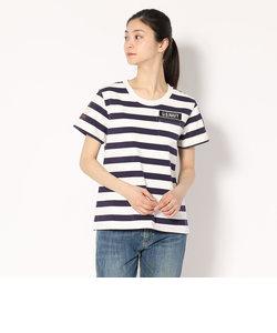 AVIREX/アヴィレックス/ネーヴァル パッチ ボーダーTシャツ/NAVAL PATCH BORDER Tシャツ Women's