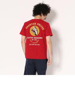 AVIREX/アヴィレックス/刺繍 T-シャツ/EMBROIDERED T-SHIRT PHANTOM PHLYER