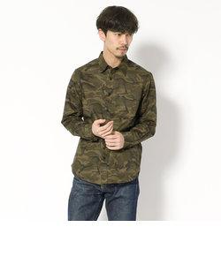 【直営店舗限定】AVIREX/アヴィレックス/長袖 迷彩シャツ/CAMOUFALGE SHIRT