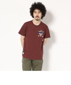 AVIREX/アヴィレックス/ パッチド クルーネック Tシャツ/ PATCHED CREW NECK T-SHIRT
