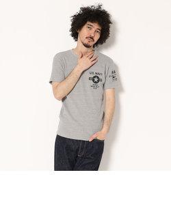 AVIREX/アヴィレックス/ワッフル クルーネック Tシャツ A.N.P.C./WAFFLE CREW  NECK T-SHIRT A.N.P.C.