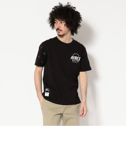 AVIREX/アヴィレックス/CREW NECK T-SHIRT STARS&STRIPES/ティーシャツ スターズ&ストライプス
