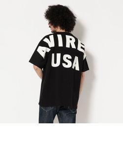 【直営店舗限定】AVIREX/アヴィレックス/ビッグロゴ ルーズフィット Tシャツ/BIG LOGO LOOSE FIT T-SHIRT
