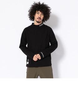 【WEB&DEPOT限定】AVIREX/アヴィレックス/長袖 ワンポイント モックネック Tシャツ/MOC NECK T-SHIRT