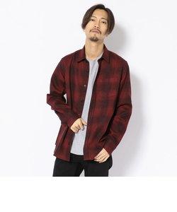 【直営店限定】長袖 チェックシャツ/CHECK SHIRT