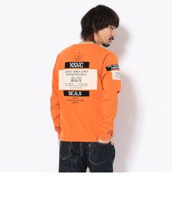 ワッペン ステンシル クルーネックTシャツ/WAPPEN STENCIL CREW NECK T-SHIRT