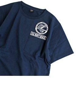 クルーネック ポケット ティーシャツ リトル クリーク/CREW NECK POCKET T-SHIRT