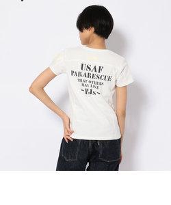 ステンシル ポケットTシャツ/POCKET STENCIL PRINT T-SHIRT