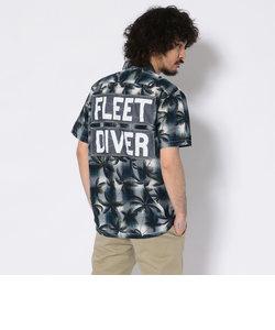 TYPE BLUE/オーバープリント チェックシャツ/OVER PRINT CHECK SHIRT