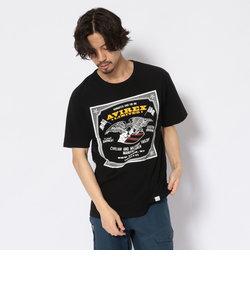 #イーグル プリントTシャツ/ EAGLE PRINT T-SHIRT