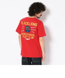 #クルーネックTシャツ ブラックライオンズ/ S/S CREW NECK T-SHIRT BLACKLIONS